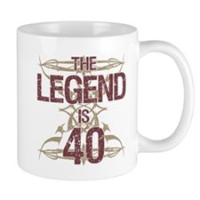 Men's Funny 40th Birthday Mugs