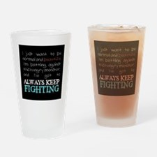 AKF...Eating Disorders (small) Drinking Glass