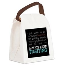 AKF...Eating Disorders (small) Canvas Lunch Bag
