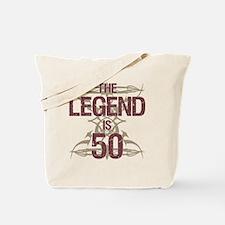 Men's Funny 50th Birthday Tote Bag
