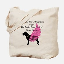 cane corso guardian angel Tote Bag