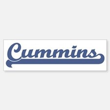 Cummins (sport-blue) Bumper Bumper Bumper Sticker