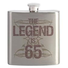 Men's Funny 65th Birthday Flask