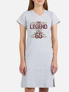 Men's Funny 65th Birthday Women's Nightshirt