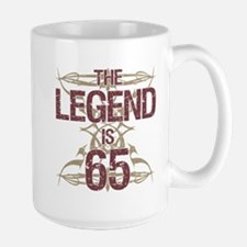 Men's Funny 65th Birthday Mugs