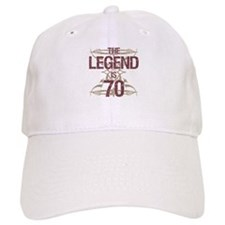 Men's Funny 70th Birthday Baseball Cap