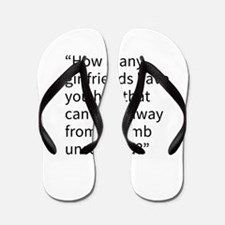 An Andy Quote Flip Flops