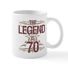 Men's Funny 70th Birthday Mugs