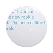 A Gail Quote Ornament (Round)