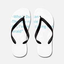 A Gail Quote Flip Flops