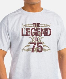 Men's Funny 75th Birthday T-Shirt