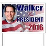 Scott walker Yard Signs