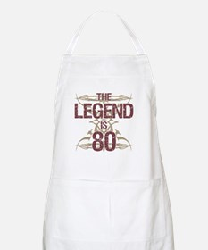 Men's Funny 80th Birthday Apron