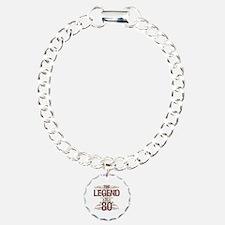 Men's Funny 80th Birthda Bracelet