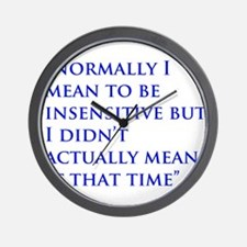 A Gail Quote Wall Clock