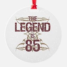 Men's Funny 85th Birthday Ornament