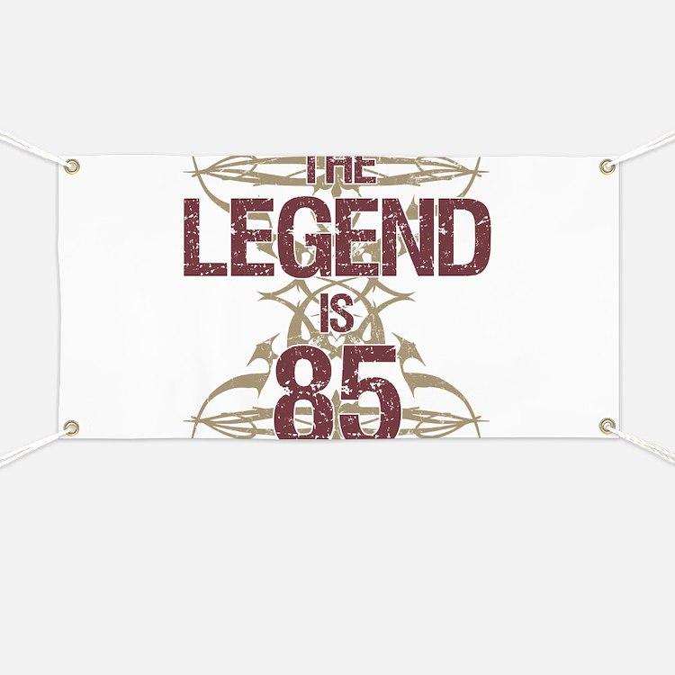 Men's Funny 85th Birthday Banner