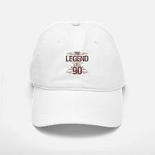 Men's Funny 90th Birthday Baseball Baseball Cap