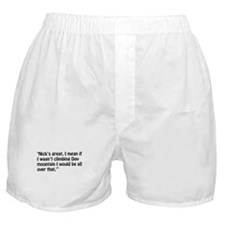 A Chloe Quote Boxer Shorts