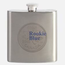 Rookie Blue Copper Flask