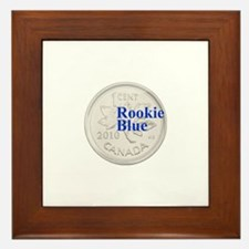 Rookie Blue Copper Framed Tile