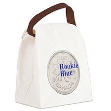 Rookie Blue Copper Canvas Lunch Bag
