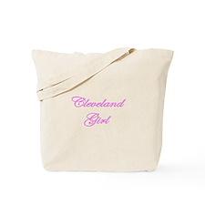 Cleveland Girl Tote Bag