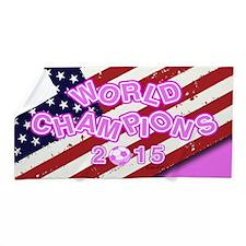 2015 World Champions Beach Towel