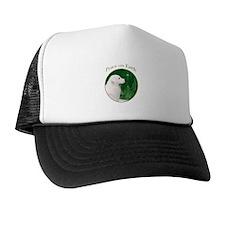 Kuvasz Peace Trucker Hat