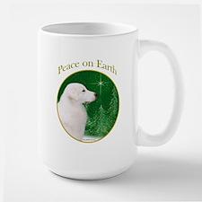 Kuvasz Peace Large Mug