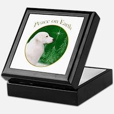 Kuvasz Peace Keepsake Box