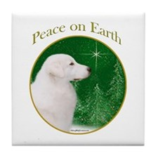 Kuvasz Peace Tile Coaster