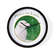 Kuvasz Peace Wall Clock