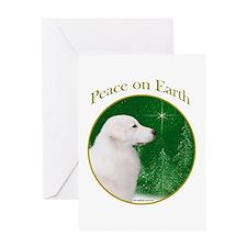 Kuvasz Peace Greeting Card