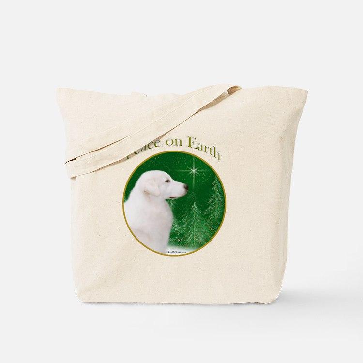 Kuvasz Peace Tote Bag