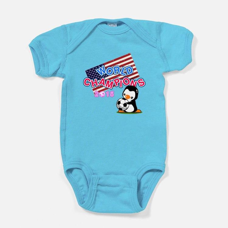 2015 World Champions Baby Bodysuit