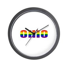 Ohio Pride Wall Clock