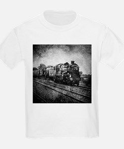 rustic vintage steam train T-Shirt