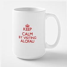 Keep calm by visiting Alofau Samoa Mugs