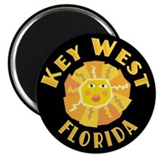 Key West Sun - Magnet