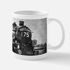 rustic vintage steam train Mugs