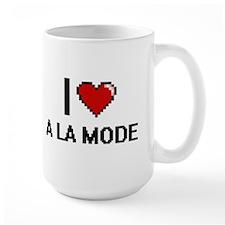 I Love A La Mode Digitial Design Mugs
