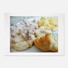 Biscuits and Gravy 5'x7'Area Rug