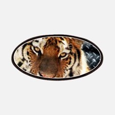modern grunge cool tiger Patch