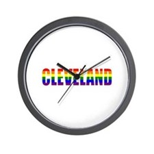 Cleveland Pride Wall Clock