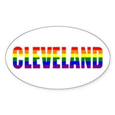 Cleveland Pride Oval Decal
