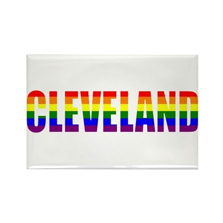 Cleveland Pride Rectangle Magnet