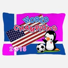 2015 World Champions Pillow Case