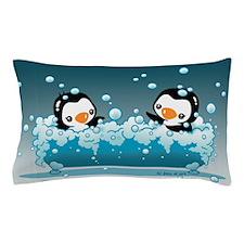 Cute Penguins Pillow Case