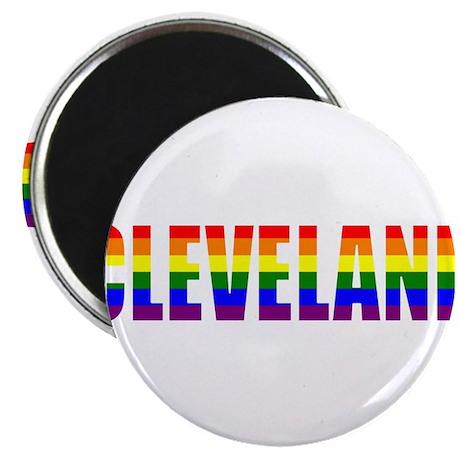 """Cleveland Pride 2.25"""" Magnet (100 pack)"""